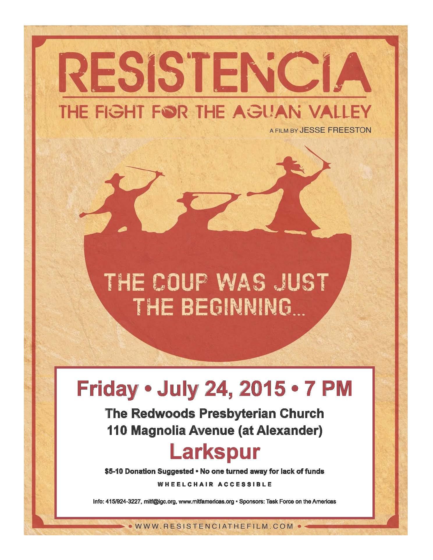 Resistencia 072415 flyer